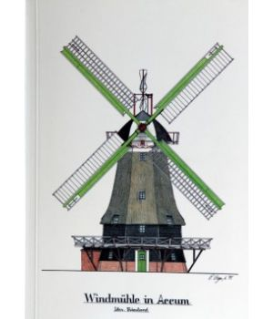 Windmühle in Accum